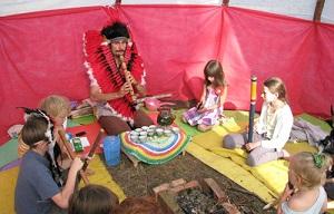 программа в семейном лагере