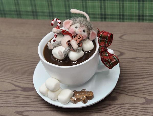пряничек чай мышка