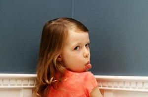 ребенок непослушный