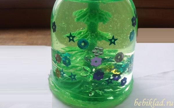 рождественский шар своими руками