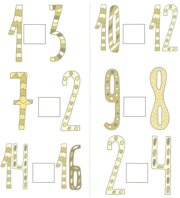 сравниваем числа