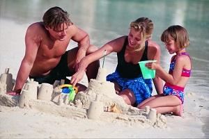 семья в отпуск