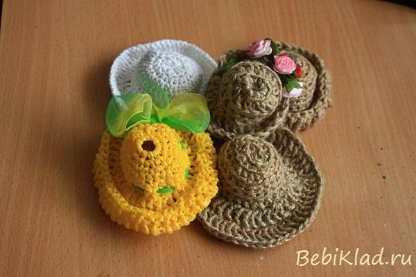 шляпка для куклы.
