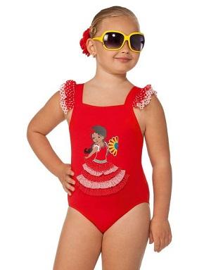 слитный детский купальник