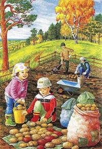 стишки короткие про осень для детей 1