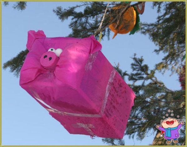 свинья игрушка на елку