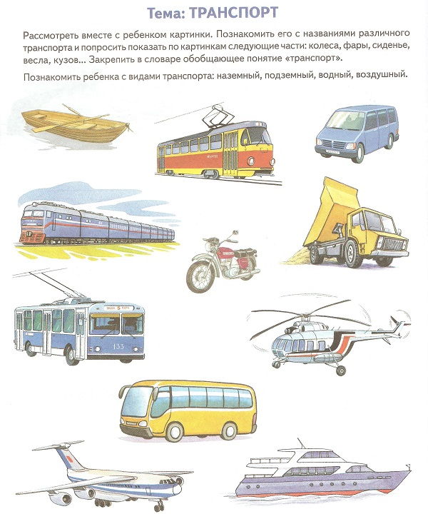 транспорт тема 1