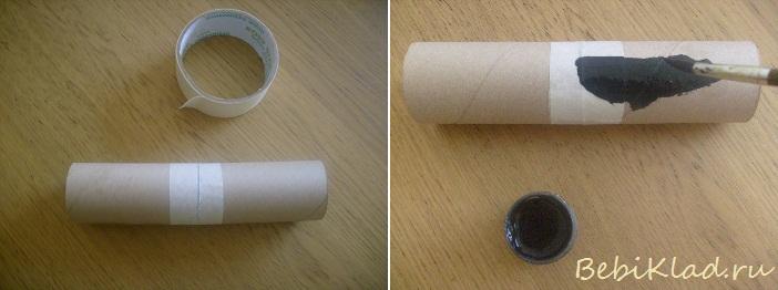 Труба своими руками из бумаги
