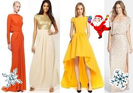 платья новогодние