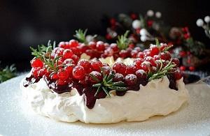 яблочный пирог новогодний