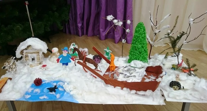 зима занятие детский сад